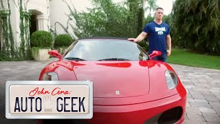 The last manual shift Ferrari EVER MADE! - John Cena: Auto Geek