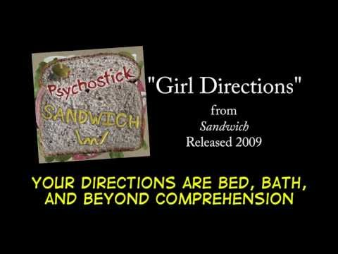 Girl Directions + LYRICS [Official] by PSYCHOSTICK
