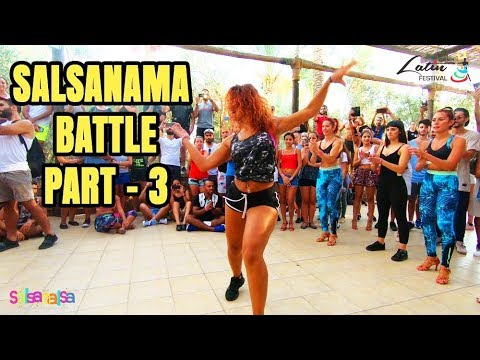 SALSANAMA SALSA BATTLE PART-3 - LEBANON LATIN FESTIVAL