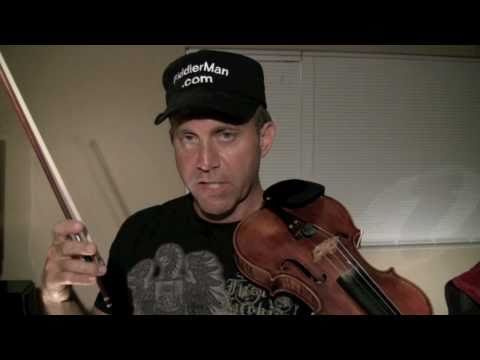 Learning to play fast on the violin - G major scale.mov