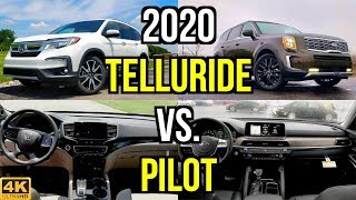 New King on the Block? -- 2020 Kia Telluride SX vs. Honda Pilot Touring: Comparison