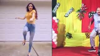 Viral video dance copy uncle stay