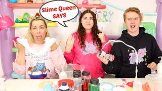 Slime Queen Says The winner gets $10,000 CHALLENGE! SLIMEATORY #564