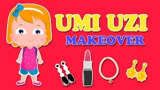 Make Up Studio | Umi Uzi And Mom | Let's Play Dress Up