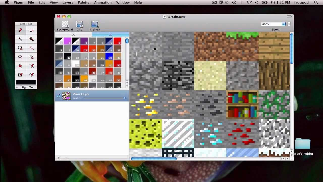 Make your own Minecraft texture pack: Mac OS X - YouTube