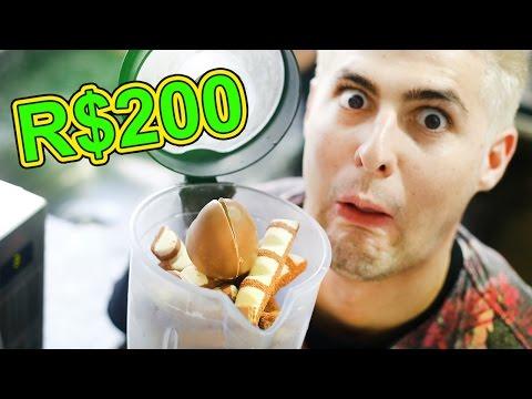 MILK SHAKE DE R$200 DE CHOCOLATE !! ( MELHOR DO MUNDO! )