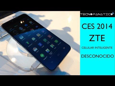 CES 2014 ZTE Celular inteligente no identificado