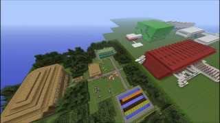 Minecraft 1.5.2 mapa escape/parkur PL