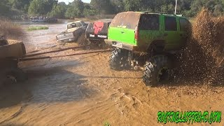 DTF OFFROAD TRUCKS SLINGING MUD HAVING FUN!!!