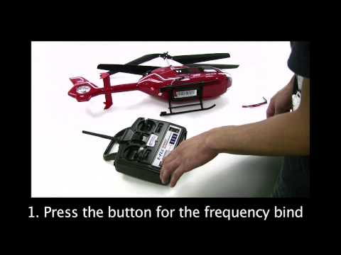 How to bind your 2.4ghz Rc helicopter