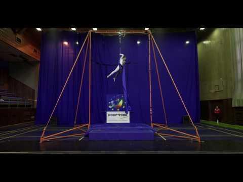 Anna Rubinshteyn - Silk Amateurs A, Open European Championship of Aerial Acrobatics 2016