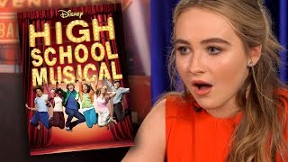 Sabrina Carpenter & Sofia Carson PLAY Who Said It DCOM Edition