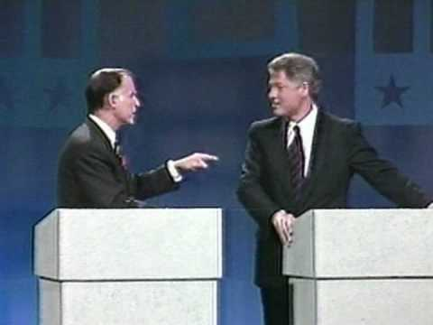 Bill Clinton Versus Jerry Brown 1992