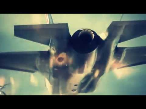 F35 Joint Strike Fighter in action