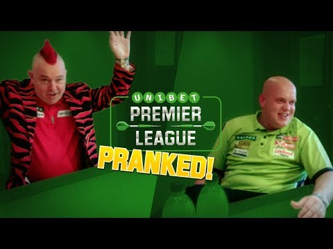 Unibet Premier League Darts Prank