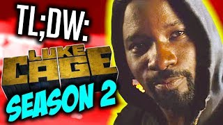 Luke Cage Season 2 in 9 Minutes   Review & Reactions   NerdFlix + Chill