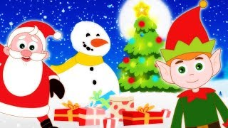 CHRISTMAS Songs For Kids Finger Family IT'S CHRISTMAS TIME Kids Songs For Children by HooplaKidz