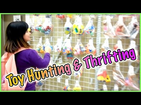Toy Hunting & Thrifting (with Jenny) - My Little Pony, Minecraft, Book Of Life And More! video