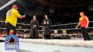 John Cena confronts The Miz: Tribute to the Troops 2014