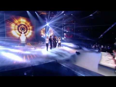 One Direction sing Chasing Cars - The X Factor Live Semi-Final (Full Version)