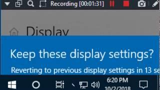 Screen Resolution Testing