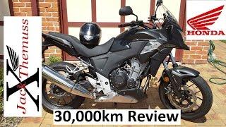 Honda CB500X 30,000km REVIEW (18641 Miles)