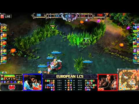Dragon Borns vs Fnatic LCS 2013 Season 3 EU W6D2 FULL GAME