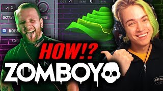 How To Zomboy Producing With Moonboy Ft Borgore