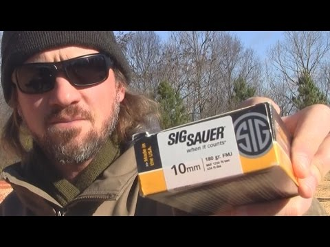 Is 10mm Recoil Too Much? // Glock 29. SIG Sauer Ammunition