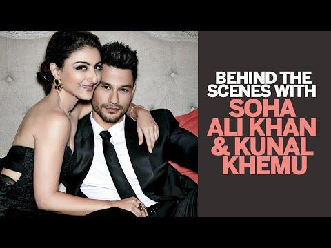 Behind The Scenes - Soha Ali Khan & Kunal Khemu