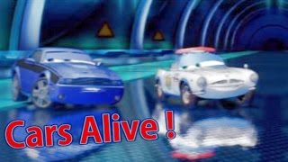 "Cars Alive ! Cars 2 gameplay - Rod ""Torque"" Redline vs Finn McMissle airport security"