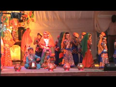 holiya me ude re gulal dance by Lourdes Bal Bhavan Jr. KG. Kalyan...
