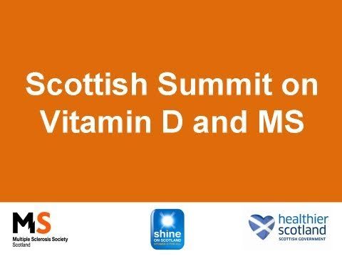 The Scottish Summit on Vitamin D and Multiple Sclerosis was held on September 21, 2010, at the Beardmore Hotel, Clydebank. A panel of experts on Vitamin D and MS from around the world were...