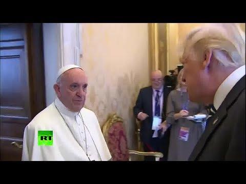 Трамп встретился с Папой Римским в Ватикане