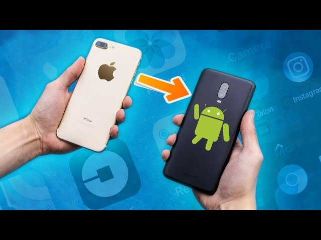A Lifelong iPhone User SWITCHES To Android!  But Will He Stay?