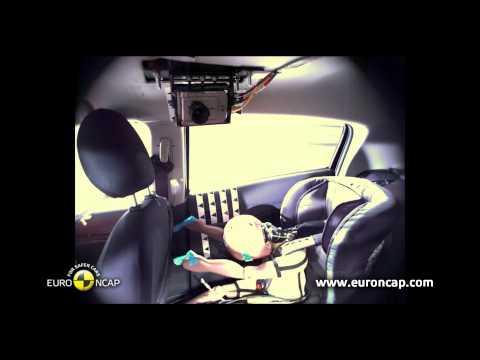 Euro NCAP | Mitsubishi Space Star / Mirage | 2013 | Краш-тест, лобовой удар