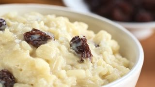 Easy dessert recipes | healthy food recipes | rice pudding