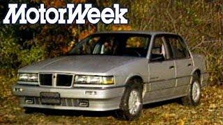 1986 Pontiac Grand Am SE and Fiero GT   Retro Review