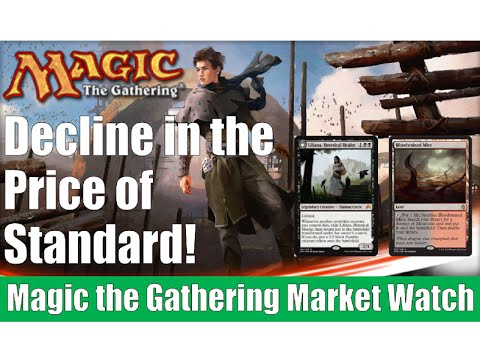 MTG Market Watch: Decline in the Price of Standard! Magic the Gathering!