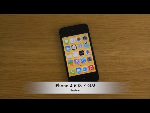 iPhone 4 iOS 7 GM - Review