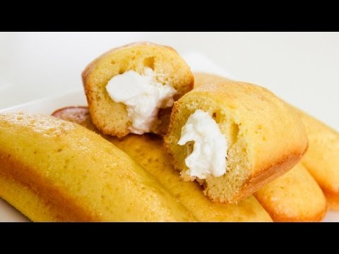 How To Make Twinkies – Home made Twinkie Recipe Video