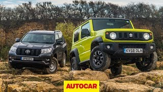 2019 Suzuki Jimny offroad 4x4 review | Can it take on a Land Cruiser? | Autocar