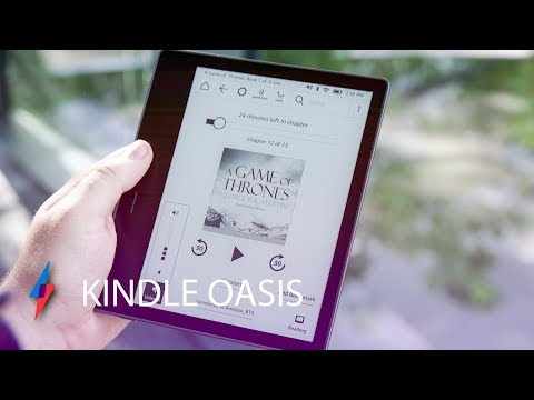 Amazon Kindle Oasis 2 Hands-On - A Waterproof Kindle!   Trusted Reviews