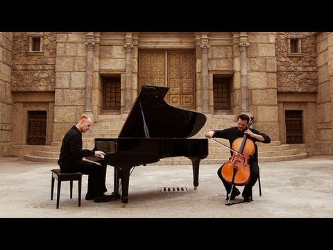 O Come, Emmanuel - (piano cello) - Thepianoguys video