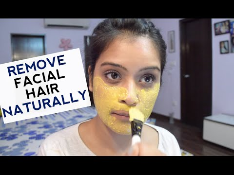 Facial Hair Removal Naturally And Permanently
