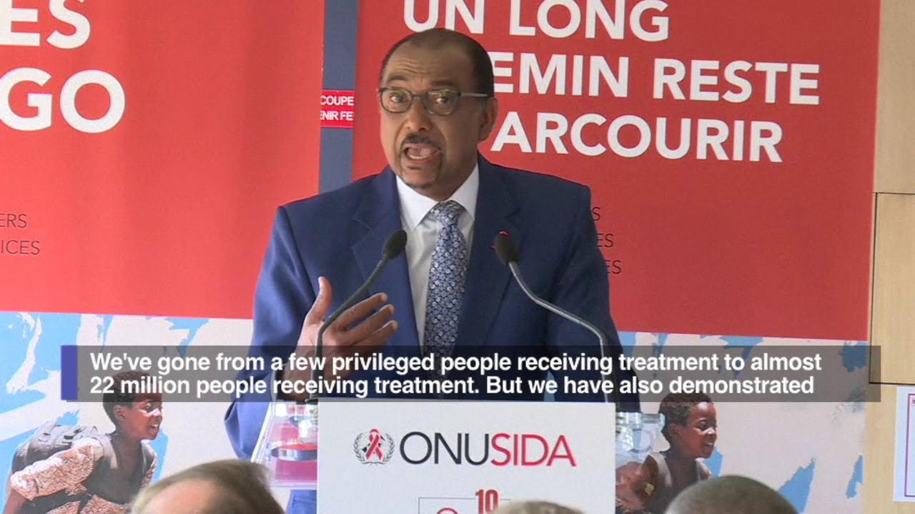 Record three in five HIV-carriers now have access to drugs--UN