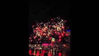 Riverfire 2012 Fireworks in Slow Motion 60fps 19