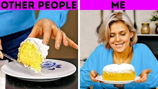 OTHER PEOPLE VS ME || 33 RELATABLE SITUATIONS