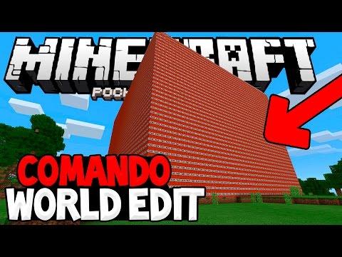 MCPE 0.16.0: O MELHOR COMANDO PARA CONSTRUIR!! - Minecraft PE 0.16.0