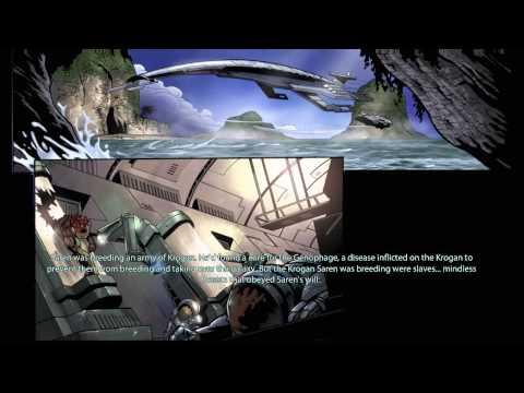 Mass Effect Genesis Interactive Comic Book - Summing Up Mass Effect 1 for Mass Effect 2